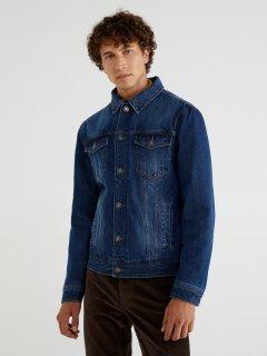 Джинсовая куртка United Colors of Benetton 2AW753EX8-901 2XL (8032590741171)