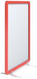 Рамка с карманом-протектором Европос А5 на подставках 2/BASE-90+PFPP-A5, Красный (P1005/06)