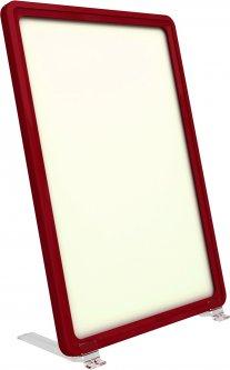 Рамка с карманом-протектором Европос А5 на подставке 75 градусов 2/BASE-75+PFPP-А5, Красный (P1004/06)