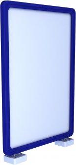 Рамка с карманом-протектором Европос А4 с магнитным держателем 90 градусов 2/MAGNET-90+PFPP-A4, Синий (P1006/28)