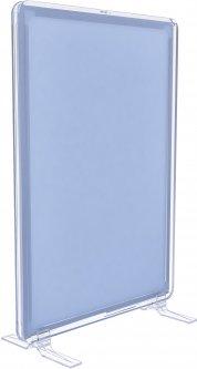 Рамка с карманом-протектором Европос А5 на подставках 2/BASE-90+PFPP-A5, Прозрачный (P1005/00)