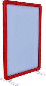 Рамка с карманом-протектором Европос А4 на підставке 90 градусов 2/BASE-90+ PFPP-А4, Красный (P1003/06)