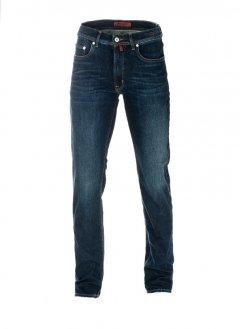 Чоловічі джинси Pierre Cardin з потертістю 30/34 Сині (А:7192/17 М:3091)