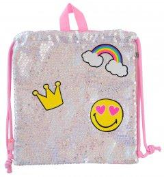 Сумка-мешок детская Yes SB-14 Funny Для девочек 0.1 кг 0.72 л (556797)