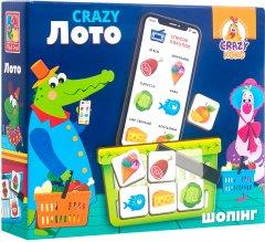Игра настольная Vladi Toys Crazy Лото (укр) (VT8055-09) (4820195057315)