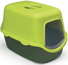 Туалет для кошек Stefanplast Cathy 56 x 40 x 40 см Салатовый/темно-зеленый (8003507986510)