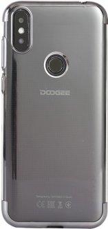 Панель Doogee TPU Electroplating для Doogee X90L Black (109879)