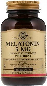Аминокислота Solgar Мелатонин 5 мг 120 таблеток (033984019379)