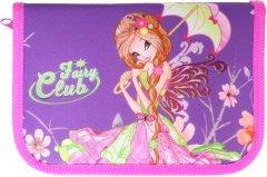 Пенал Class Fairy Club 1 отделение 2 отворота пустой (99205/8591662992052)