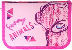 Пенал Class Funny Animals 1 отделение 2 отворота с наполнением (99403/8591662994032)