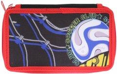 Пенал Class Football 2 отделения с наполнением (99611/8591662996111)