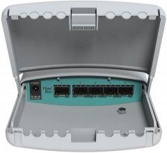Коммутатор MikroTik CRS105-5S-FB гигабитный