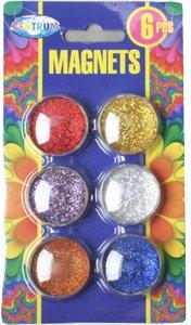 Набор магнитов Centrum Glitter 30 мм 6 шт (88804) (4030969888049)
