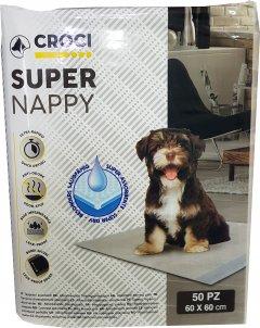 Пеленки для собак Croci 60 х 60 см 50 шт. (8023222059801)