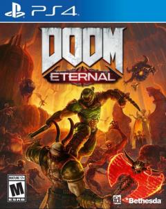 Игра DOOM Eternal для PS4 (Blu-ray диск, Russian version)