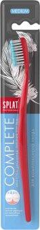 Зубная щетка защита от бактерий Splat Professional Complete Medium с ионами серебра Голубая (4603014008923)