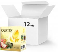 Упаковка чая белого с добавками пакетированного Curtis White Bountea 20 пакетиков х 12 шт (4823063702935)