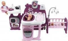 Большой игровой центр Smoby Toys Baby Nurse Прованс комната малыша с кухней, ванной, спальней и аксессуарами (220349) (3032162203491)