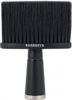 Щетка для шеи Barburys Avro 10х13.5 см Черная (5412058203039)