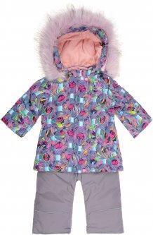 Зимний комплект (куртка + полукомбинезон) Evolution 29-ЗД-19 80 см Бирюзовый/Серый (4823078564771)