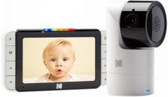 Цифровая видеоняня Kodak C525 HD Wi-fi с родительским блоком (C525000C525) (4895222700045)