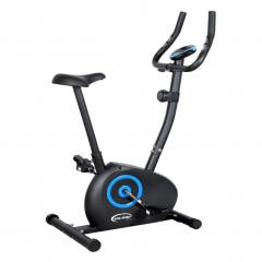 Велотренажер магнітний King Sport Drift з ЖК-дисплеєм і виміру пульсу + автовідключення Чорний/Блакитний