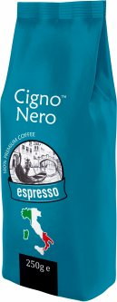 Кофе молотый Cigno Nero Espresso 250 г (4820154091336)