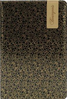 Блокнот Bourgeois N9008 70 г/м² Искусственная кожа А5 80 листов в клетку (6923749726656)