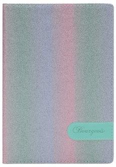 Блокнот Bourgeois N9012 70 г/м² Искусственная кожа А5 80 листов в клетку черно-красный (6923749726694)