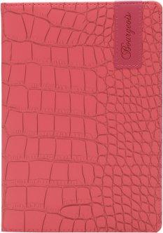 Блокнот Bourgeois N9024 70 г/м² Искусственная кожа А5 80 листов в клетку Розовый (6923749726816)