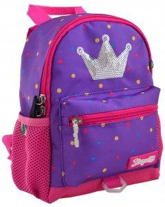 Рюкзак детский 1 Вересня K-16 Sweet Princess 0.25 кг 18х22.5х9.5 см 3.8 л (556567)