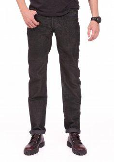 Джинси чоловічі Sergio Jemetzzi темно-коричневі вельветові 36 р (J122101305027)