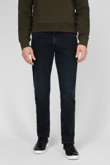 Чоловічі темно-сині джинси SLIM FLEX BLUE BLACK DENIM Calvin Klein 29-32 K10K106195