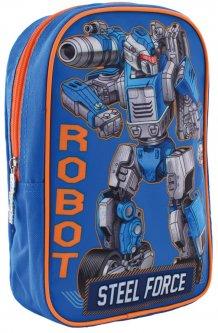 Рюкзак детский 1 Вересня K-18 Steel Force 0.12 кг 18х24.5х6 см 2.5 л (556427)