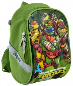 Рюкзак детский 1 Вересня K-26 Tmnt 0.14 кг 14х22х11 см 3 л (556471)