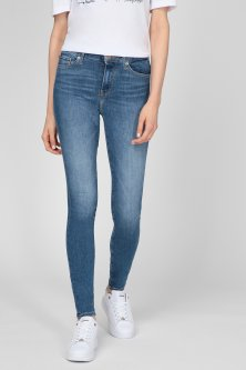 Жіночі сині джинси TH FLEX COMO SKINNY RW A IZZY Tommy Hilfiger 28-32 WW0WW30195