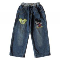 Джинси Mickey Mouse Bear для хлопчика 95 см Сині 6833