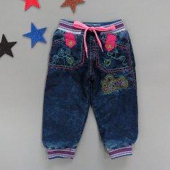 Теплі джинси Latoldo kids для дівчинки 92 см Сині Маломірні 17441