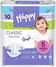 Подгузники детские Bella Baby Happy Classic Junior 12-25 кг 10 шт (5900516603151)