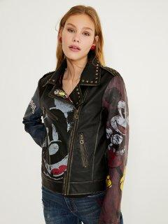 Куртка из искусственной кожи Desigual 21SWEW17-2000 44 (8445110176542)