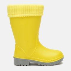 Резиновые сапоги Alisa Line WIN 801 28-29 18.8 см Желтые (2500000060366)