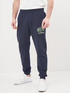 Спортивные штаны Lacoste XH0229-166 S (T3) Navy Blue (3665926007105)