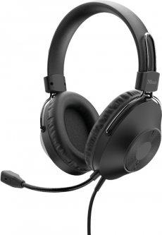 Наушники Trust Ozo Over-Ear USB Headset (24132)