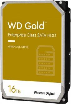 "Жесткий диск Western Digital Gold Enterprise Class 16TB 7200rpm 512MB WD161KRYZ 3.5"" SATA III"