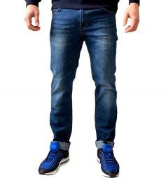Джинси чоловічі GODBARON 20С45-X6 синій XL
