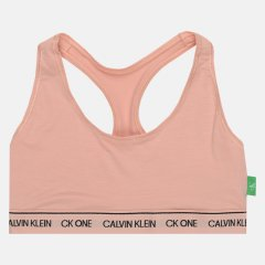 Спортивный бюстгальтер Calvin Klein Underwear Unlined Bralette QF5939E-7ZO S Strawberry Champagne (8719853312933)