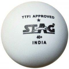 Мячи для настольного тенниса Stag One Star White Ball 6 шт (TTBA-440.W)