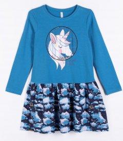 Платье Coccodrillo Galaxy WC1129103GAL-022 116 см Разноцветное (5904705476120)
