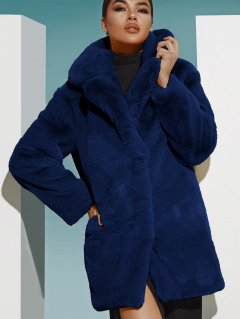 Шуба Gepur 33005 L Синий (5000015162347)