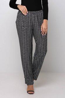Трикотажные брюки на резинке Tatiana БАРНИ черные 56